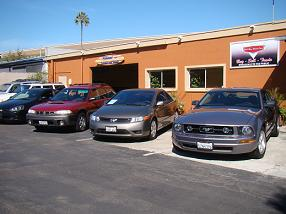 Del Mar Motor Cars Used Car Showroom